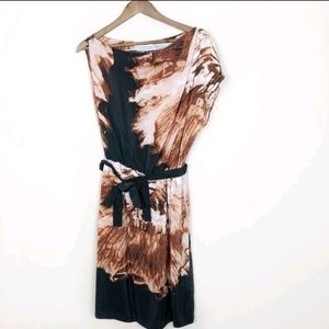 Robert Rodriguez Silk Dress with Tie Waist 145